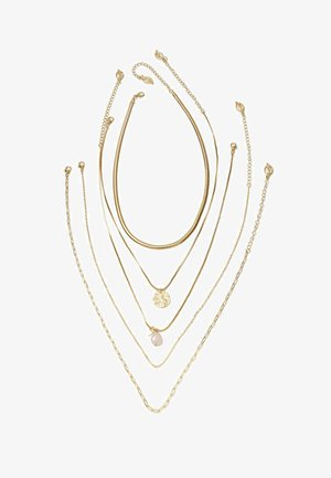 5 SET - Necklace - yellow
