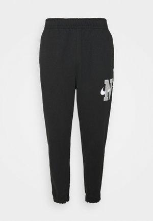 RETRO PANT - Teplákové kalhoty - black