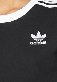 adidas Originals - STRIPES TEE - T-shirt print - black - 6