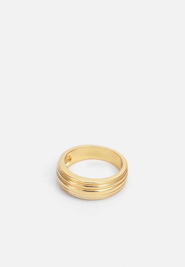 LINEAR - Ring - pale gold-coloured