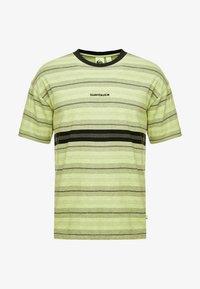 BACK - Print T-shirt - green glow back