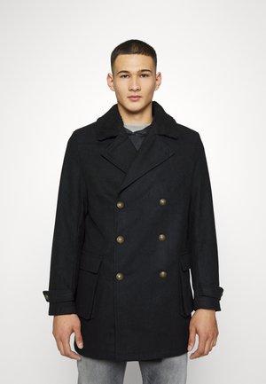 MILITARY JACKET - Classic coat - black