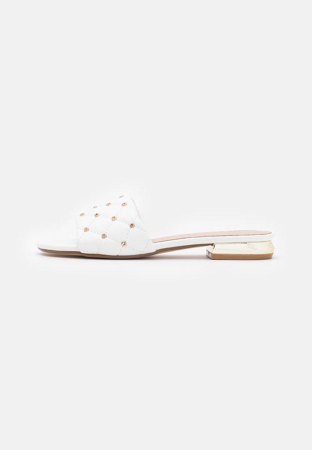 AGATA  - Ciabattine - white