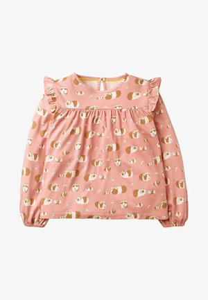 MIT MUSTER - Blouse - chalky pink guinea pig