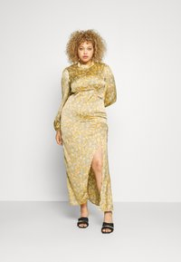 Never Fully Dressed - SIDE SPLIT PETAL PRINT MIDI - Maxi dress - multi - 1