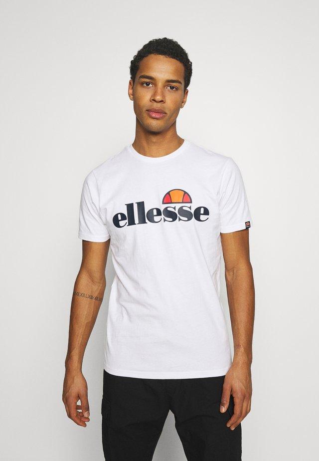 GALVEZ TEE - T-shirt imprimé - black/gold