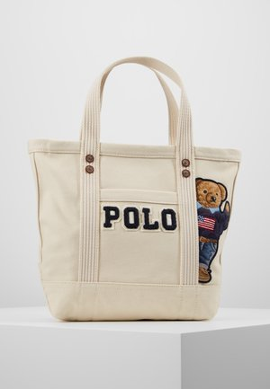 Shopping bags - cream