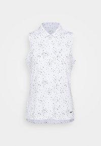 DRY DOT - Polo shirt - white/black