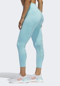 adidas Performance - BELIEVE THIS 2.0 PRIMEBLUE 7/8 LEGGINGS - Tights - blue - 2