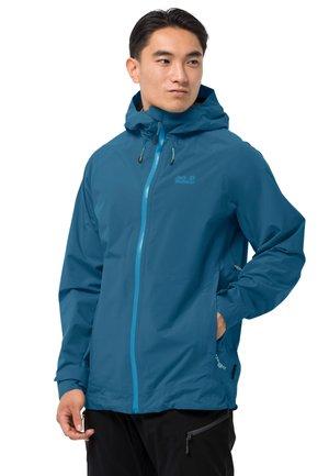 HIGHEST PEAK - Waterproof jacket - dark cobalt