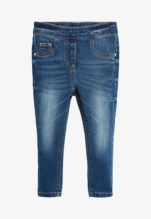 Jeggings - mottled blue