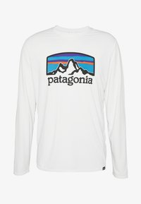 Patagonia - COOL DAILY GRAPHIC - T-shirt à manches longues - white - 4