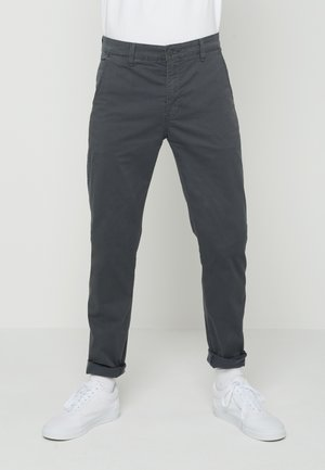 XX CHINO SLIM FIT II - Chinosy - greys