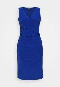 Lauren Ralph Lauren - MID WEIGHT DRESS - Jersey dress - summer sapphire - 4