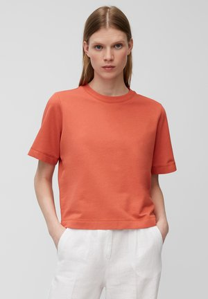 T-shirt basic - burnt orange