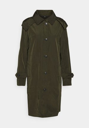 COAT PACKABLE - Gabardina - native olive