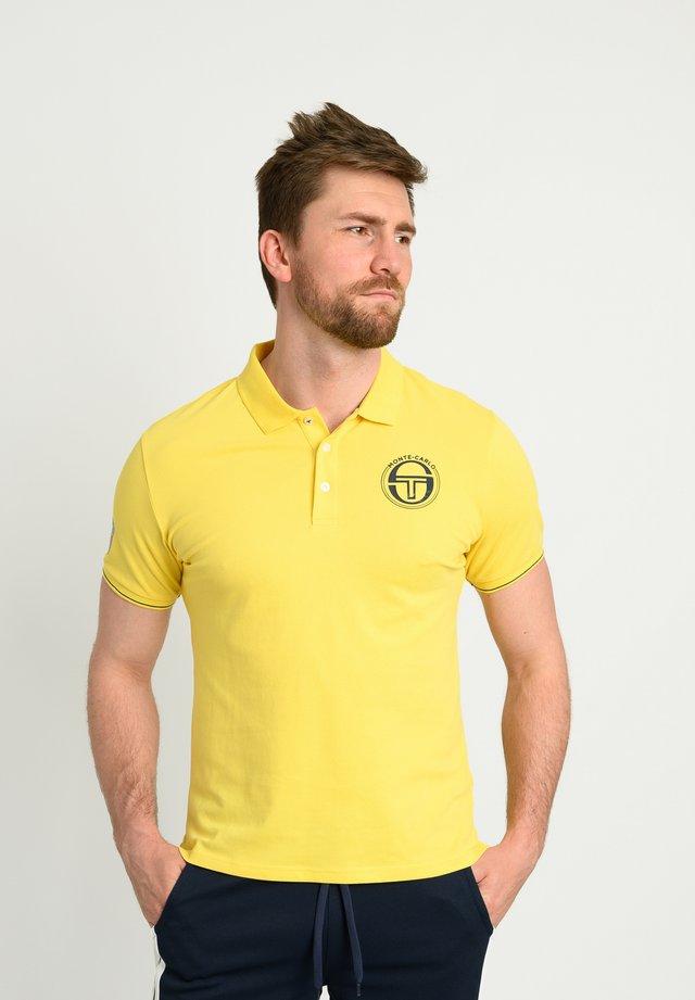 FAROE - Polo - yellow/nav