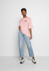 Even&Odd - T-shirt print - pink - 1