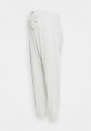 MATERNITY SUPER SOFT HAREM PANT - Kalhoty - soft grey marle