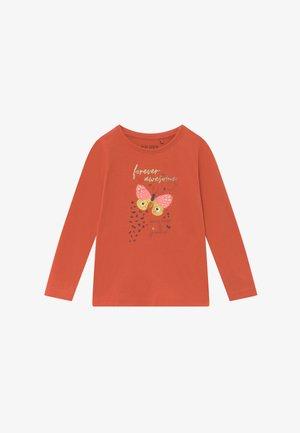 KIDS BUTTERFLIES - Top sdlouhým rukávem - ginger