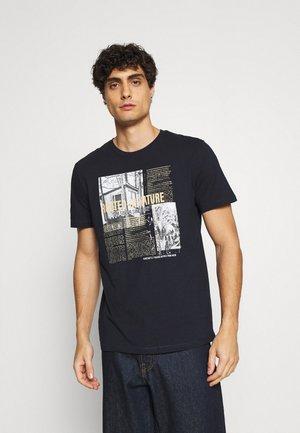 PHOTO PRINT - Print T-shirt - sky captain blue