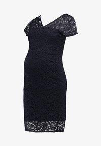 Envie de Fraise - ETOILE MATERNITY DRESS - Sukienka etui - navy blue - 5