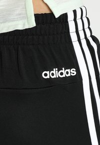 adidas Performance - ESSENTIALS 3STRIPES SPORT TRACKSUIT - Tracksuit - black/white - 9