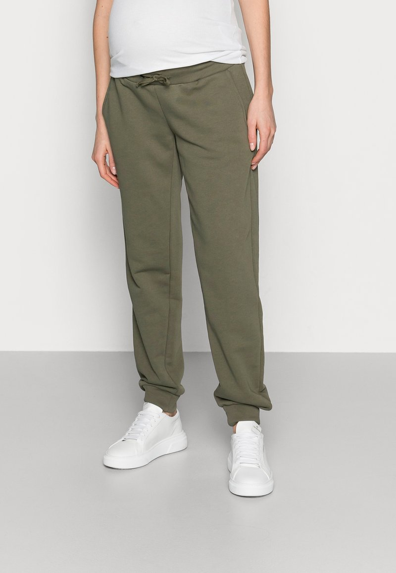 Pieces Maternity - PCMPIP PANTS - Tracksuit bottoms - sea turtle