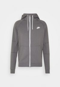 Nike Sportswear - Sudadera con cremallera - iron grey/ice silver/white/ - 4