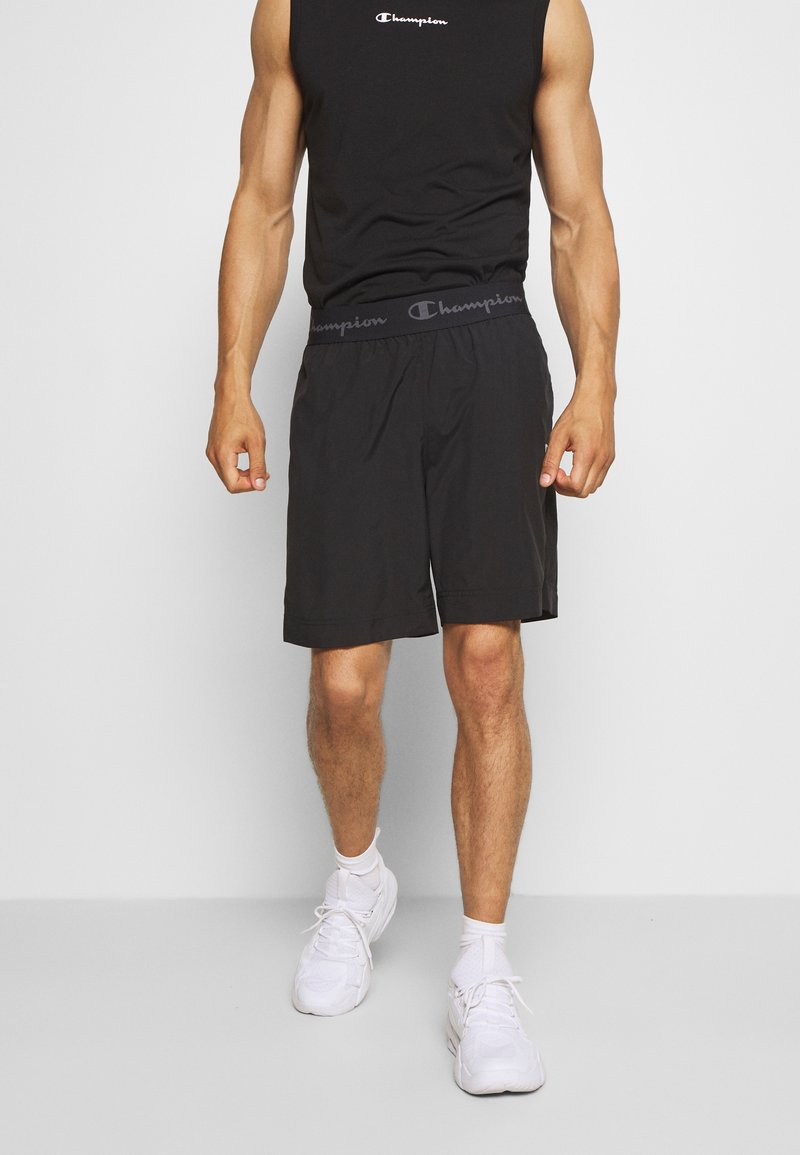 Champion - LEGACY TRAINING BERMUDA - Urheilushortsit - black