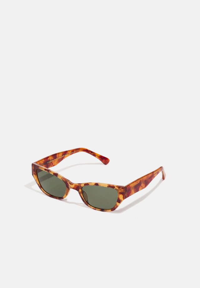 KANYE - Solbriller - light demi brown tortoise