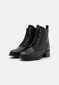 San Marina - SARYA - Lace-up ankle boots - noir - 2
