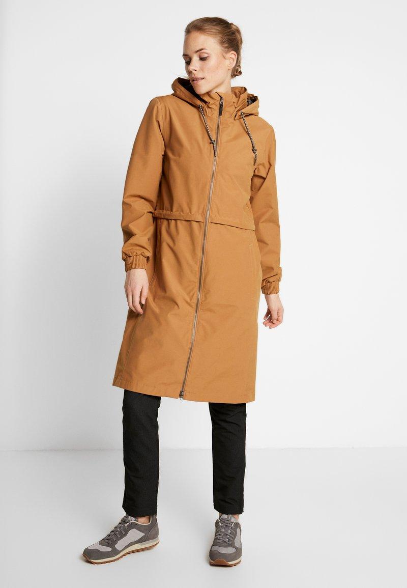 Columbia - FIRWOOD™ LONG JACKET - Waterproof jacket - light elk