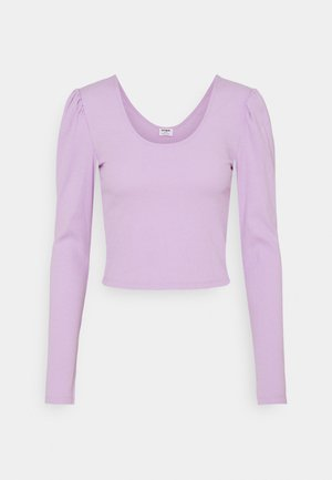 PAMELA PUFF SLEEVE LONG SLEEVE  - Long sleeved top - frosty lilac