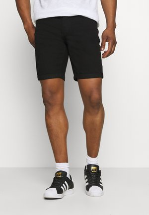 ONSPLY LIFE - Denim shorts - black denim
