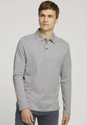 Poloshirt - middle grey melange