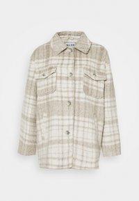 NA-KD - BRUSHED CHEST POCKET JACKET - Summer jacket - tan - 4