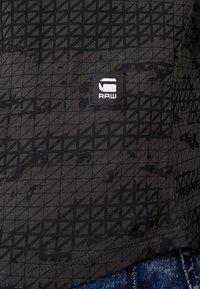 G-Star - VONTONI RELAXED - Print T-shirt - raven/dark black - 5