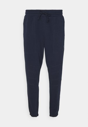 PANTS CUFF SHIELD - Tracksuit bottoms - classic navy