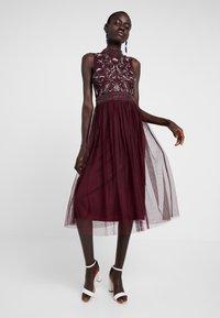 Lace & Beads Tall - KUSHI - Juhlamekko - burgundy - 1