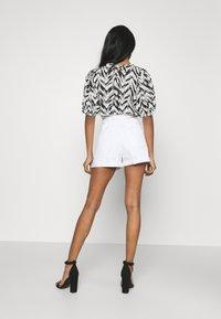River Island - Denim shorts - white - 2