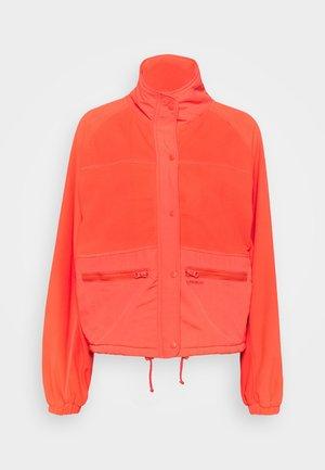 MARAU WOMEN  - Fleece jacket - sienna