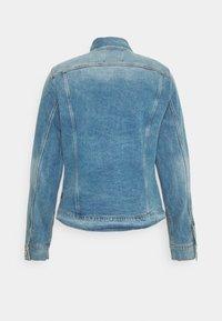 G-Star - 3301 SLIM - Denim jacket - denim/sun faded stone - 8