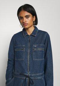 Tommy Jeans - ZIP BOILER SUIT - Jumpsuit - blue - 3
