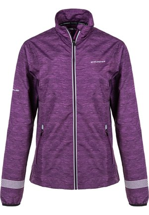 Training jacket - 4105 deep purple