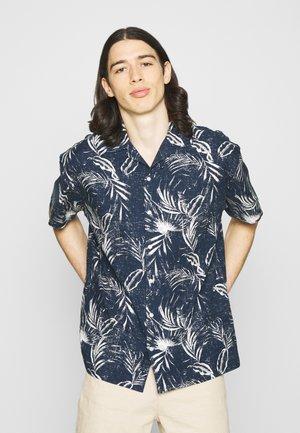 JJMIKE SHIRT PLAIN - Shirt - navy blazer