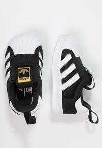 adidas Originals - SUPERSTAR 360  - Scarpe senza lacci - core black/white - 1