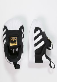 adidas Originals - SUPERSTAR 360  - Półbuty wsuwane - core black/white - 1
