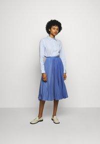Polo Ralph Lauren - GEORGIA LONG SLEEVE - Button-down blouse - white/blue - 1