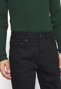 Burton Menswear London - TWILL - Jeans Skinny Fit - black - 3